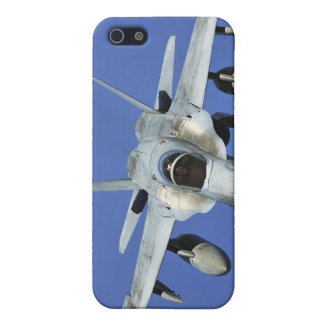 A F/A-18 Hornet participates in a mission iPhone SE/5/5s Cover