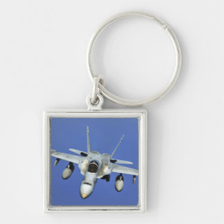 A F/A-18 Hornet participates in a mission Keychain
