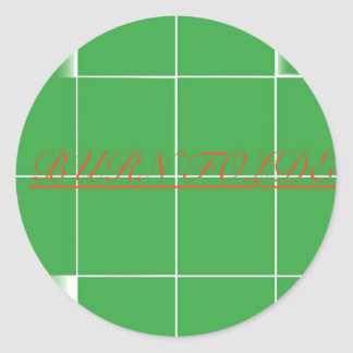 A F A B . I n c Pepaseed.Org Classic Round Sticker