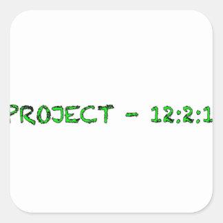 A F A B . I n c Pepaseed.Org Square Sticker