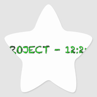 A F A B . I n c Pepaseed.Org Star Sticker
