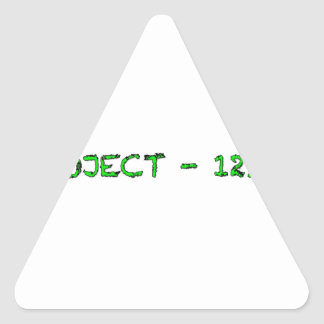 A F A B . I n c Pepaseed.Org Triangle Sticker