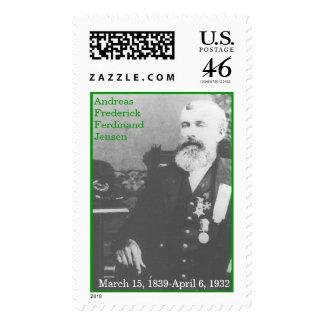 A F F Jensen Postage Stamp
