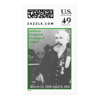 A. F. F. Jensen Postage Stamp