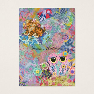 A Fabric Wonderland Business Card