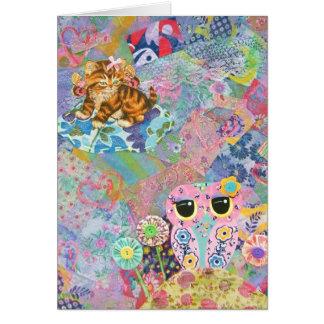 A Fabric Wonderland Card