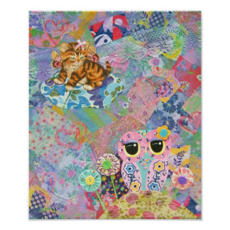 A Fabric Wonderland Poster