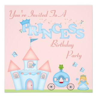 A Fabulous Princess Party Custom Invitation