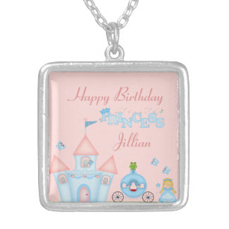 A Fabulous Princess Party Silver Plated Necklace