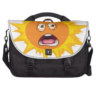 a face commuter bag