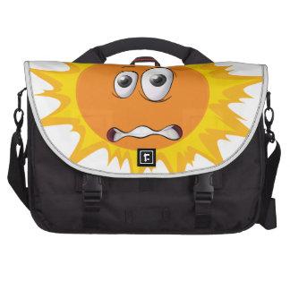 a face laptop bag