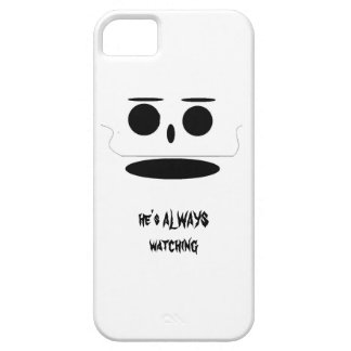 a face staring at you iPhone SE/5/5s case