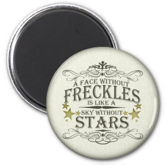 A Face Without Freckles Magnet