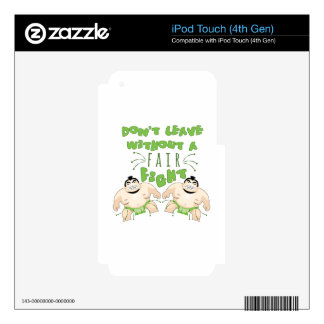 A Fair Fight Skin For iPod Touch 4G