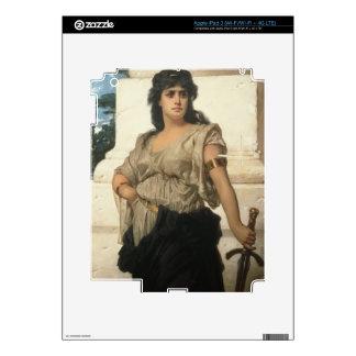A Fair Warrior (oil on canvas) iPad 3 Decal