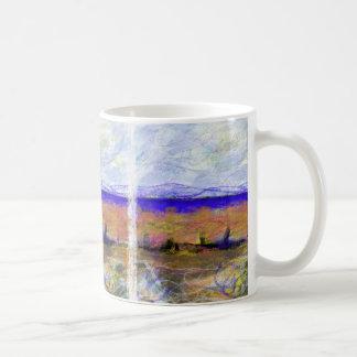 A Fair Wind Gusts Over the Loch Mug