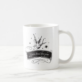"""A fairer house than prose"" Coffee Mug"