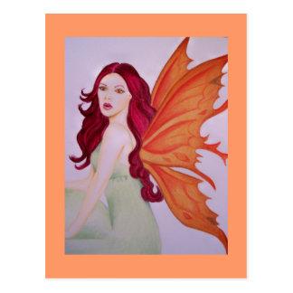 a fairy 2 postcard