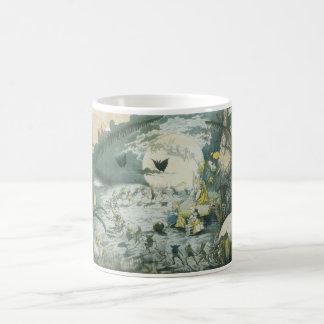 A Fairy Dance Full Moon Classic White Coffee Mug