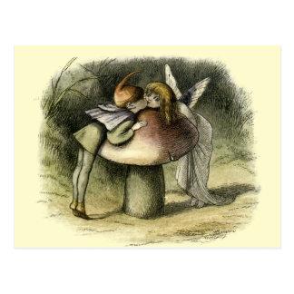 """""""A Fairy Kiss"""" by Doyle Postcard"""