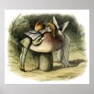 """""""A Fairy Kiss"""" by Doyle – Print"""