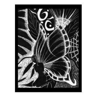 a fairy life post card