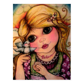 A Fairy Magical Moment Postcard