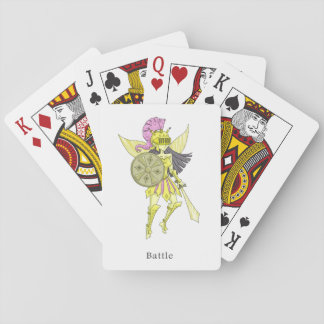 A fairy named Battle Playing Cards