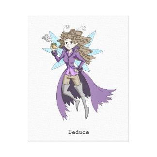 A fairy named Deduce Canvas Print