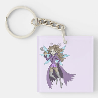A fairy named Deduce Keychain