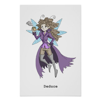 A fairy named Deduce Poster