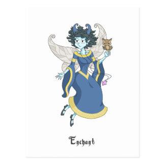 A fairy named Enchant Postcard