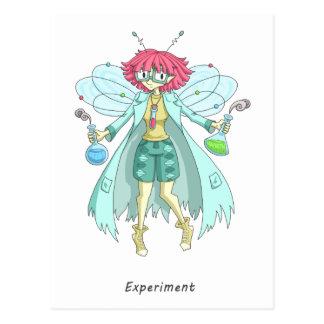 A fairy named Experiment Postcard