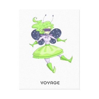 A fairy named Voyage Canvas Print