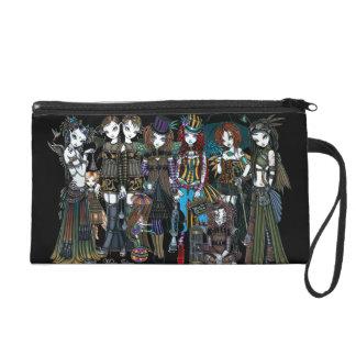A Fairy Steampunk Circus Wristlet Bag