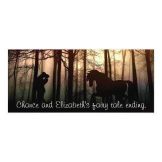 A fairy tale ending card