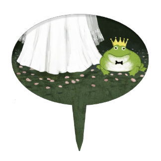 A Fairy Tale Wedding - Frog Prince Cake Topper