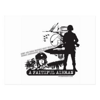 A Faithful Airman Postcards