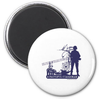 A Faithful Guardsman 2 Inch Round Magnet