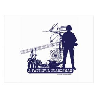 A Faithful Guardsman Post Card