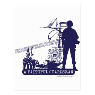 A Faithful Guardsman Postcard