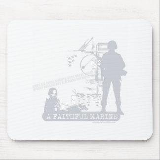 A Faithful Marine Mouse Pads