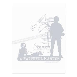 A Faithful Marine Post Cards