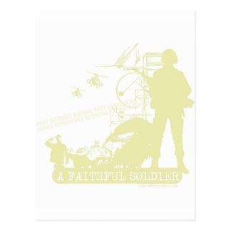 A Faithful Soldier Post Card