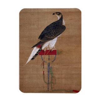 A Falcon - 16th Century Korean Scroll Vinyl Magnet