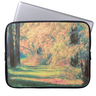 A Fall Path Laptop Sleeve