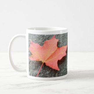 A Fallen Leaf Coffee Mug