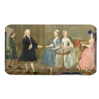 A Family Being Served with Tea, c.1740-45 (oil on iPod Touch Case