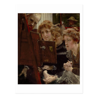 A Family Group 1896 oil on panel Post Cards