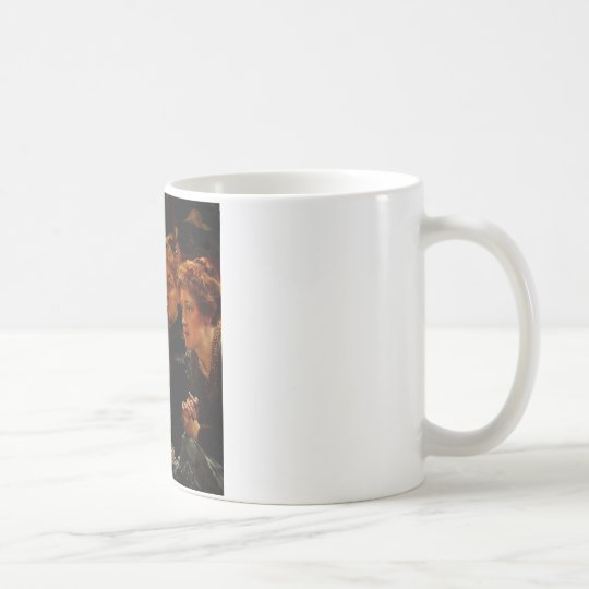 A Family Group by Sir Lawrence Alma Tadema Coffee Mug